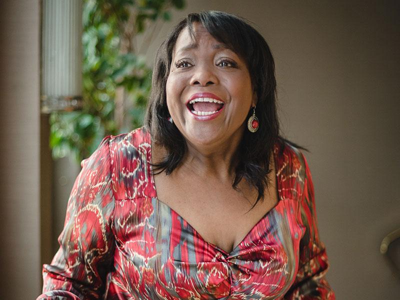 Gail Anderson –Sängerin